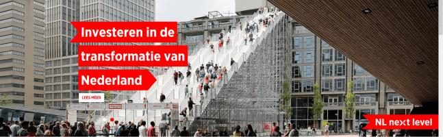 Ondernemingsorganisaties starten campagne NL Next Level