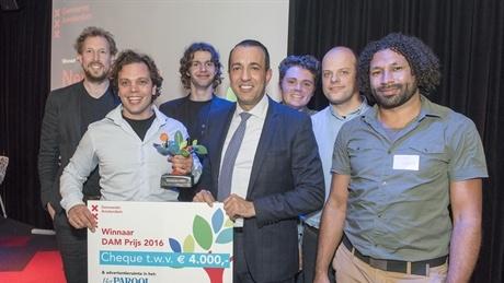New Electric wint de DAM Prijs 2016