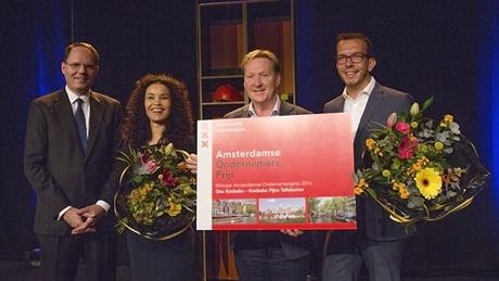 Kesbeke Fijne Tafelzuren winnaar Amsterdamse Ondernemersprijs 2016