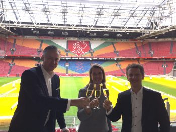 Amsterdam ArenA nieuwe partner MKB Amsterdam