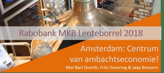 Je kunt je weer aanmelden voor de Rabobank MKB Lenteborrel!