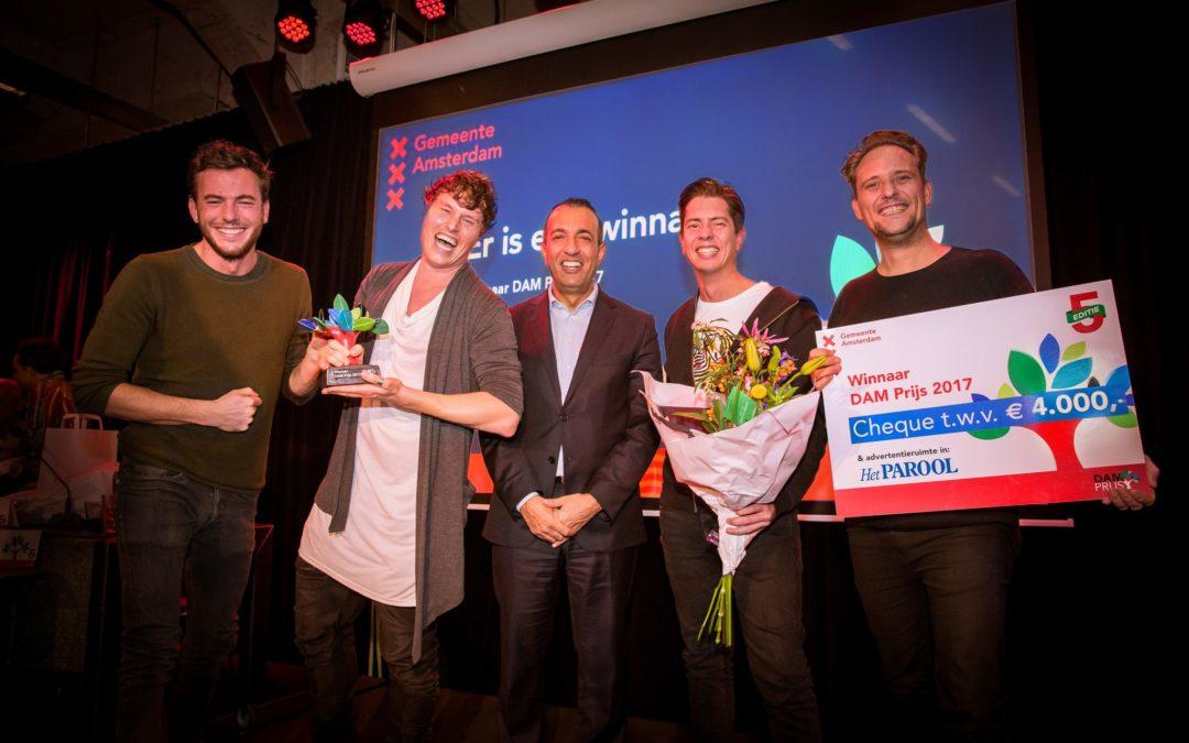 DGTL wint DAM Prijs 2017