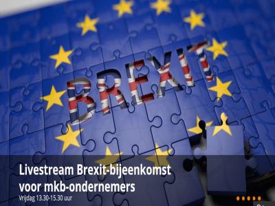 Livestream Brexit-event voor ondernemers