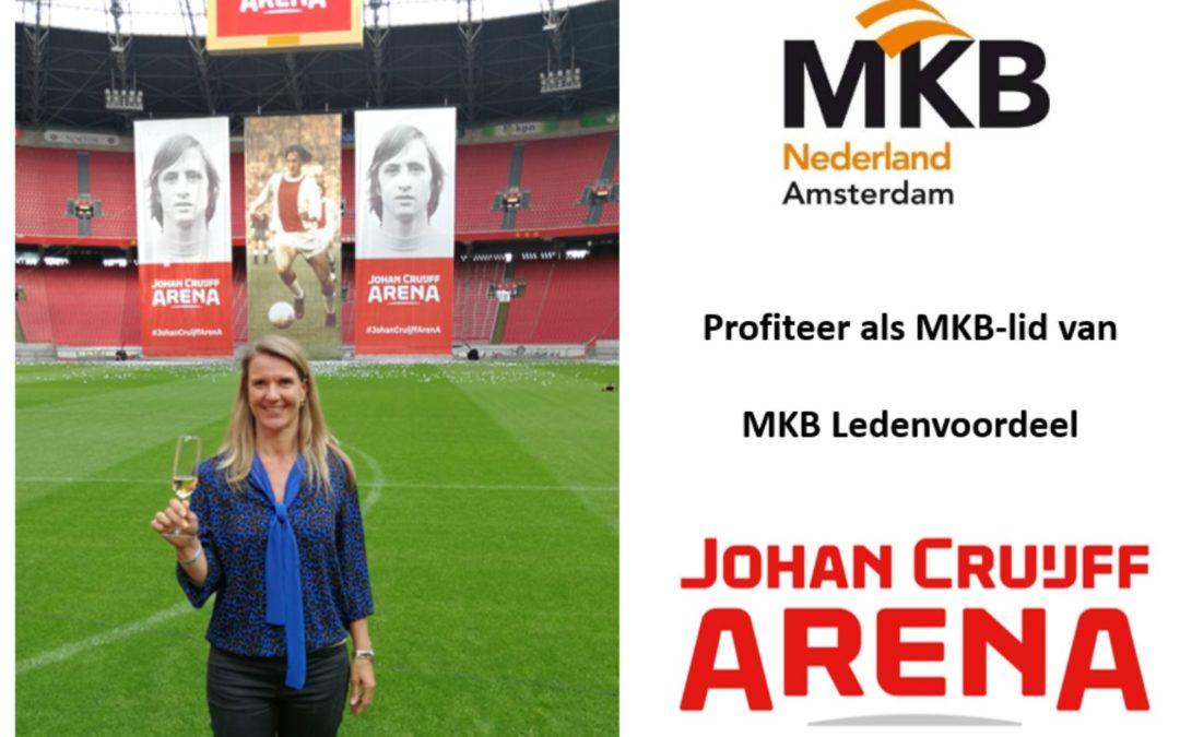 Ledenaanbieding | Johan Cruijff ArenA – 14% korting op zaalhuur
