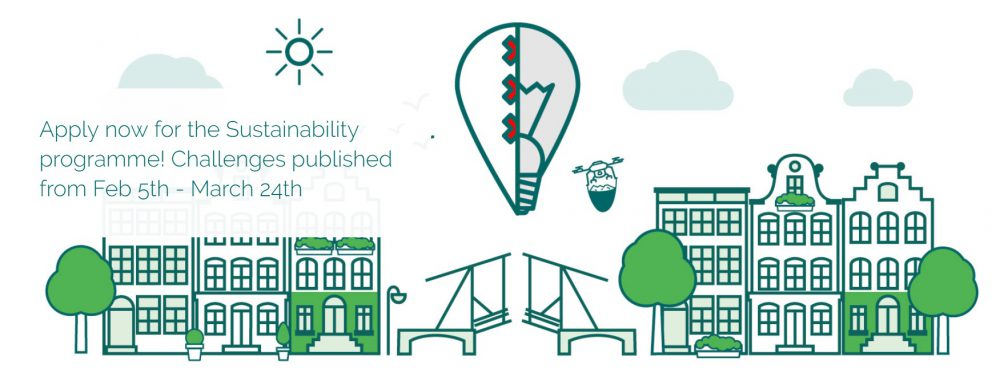 Nieuwe editie Startup programma Amsterdam over duurzaamheid