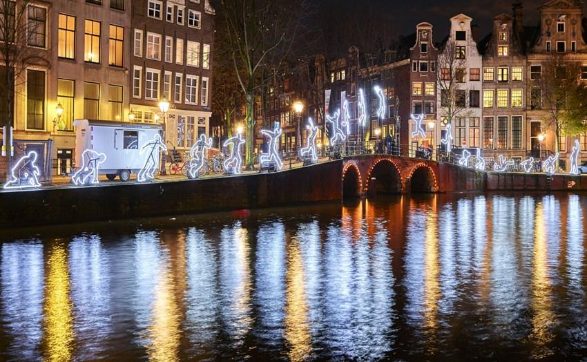 Nominaties voor Product van de Maand januari 2020 door Partners MKB Amsterdam tijdens Vaartocht