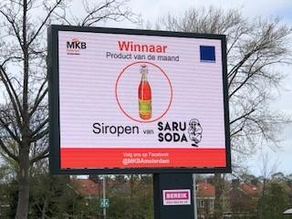 Siropen van Saru Soda: winnaar Product van de maand!