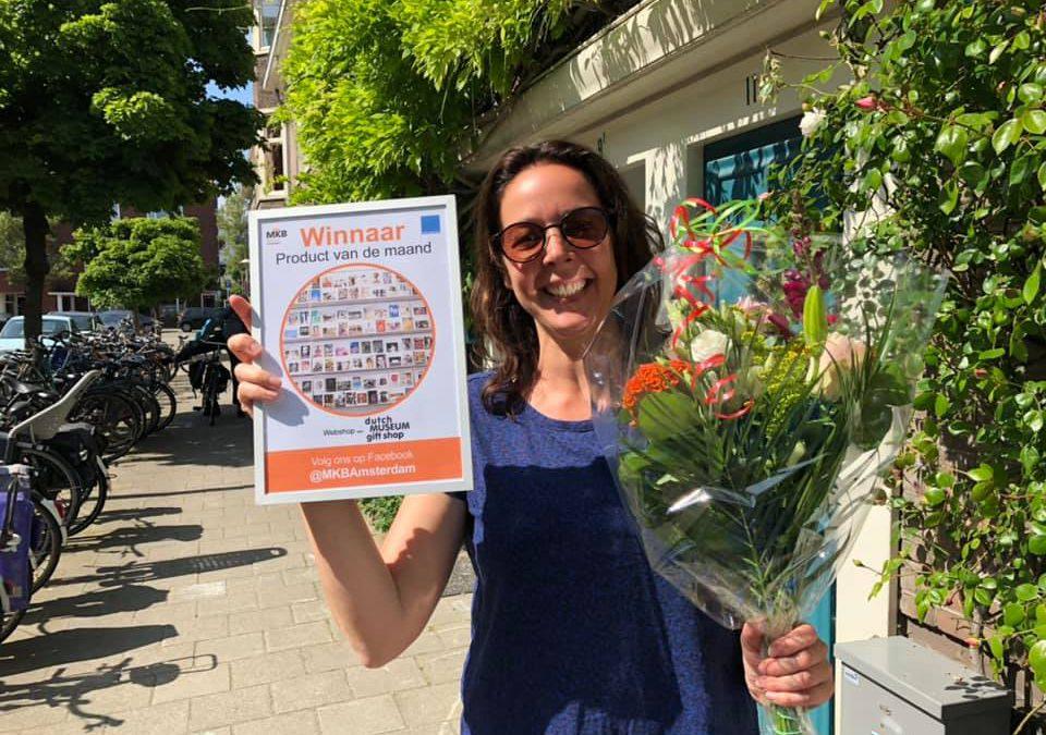 Winnaar Product van de maand: Jitske Naberman van Dutch Museum Gift Shop