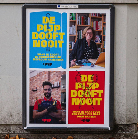 De Pijp steunt lokale ondernemers met campagne