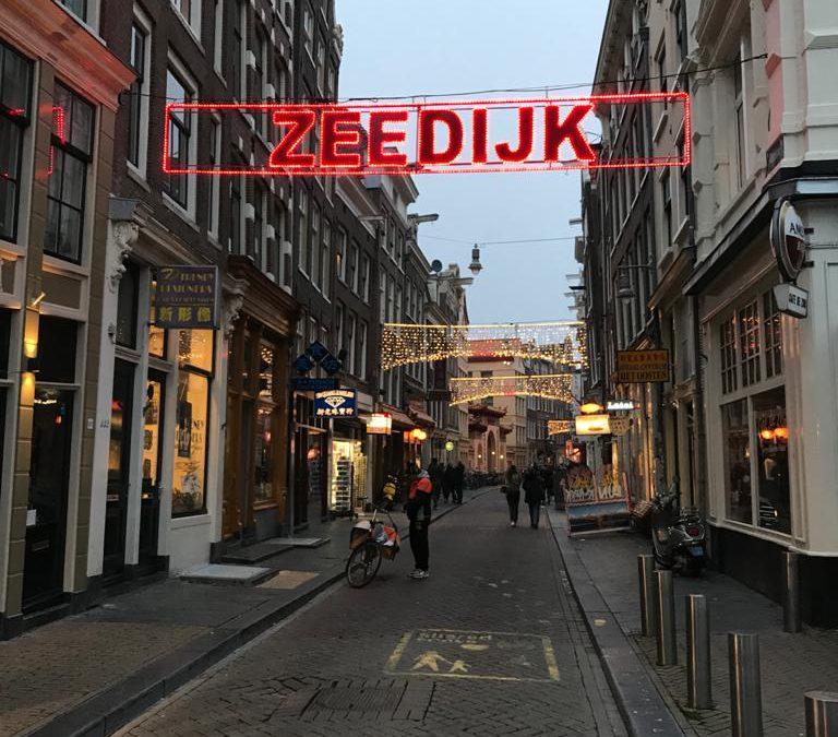 Het was lang niet overal druk in Amsterdam