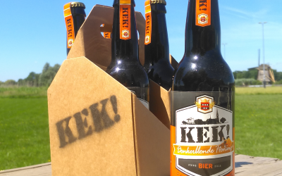 Donkerblonde honingbier van Kek! bier – nominatie november