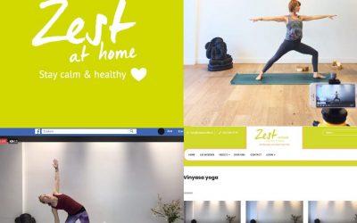 Mind- en yogalessen Zest your Life at home – nominatie mei