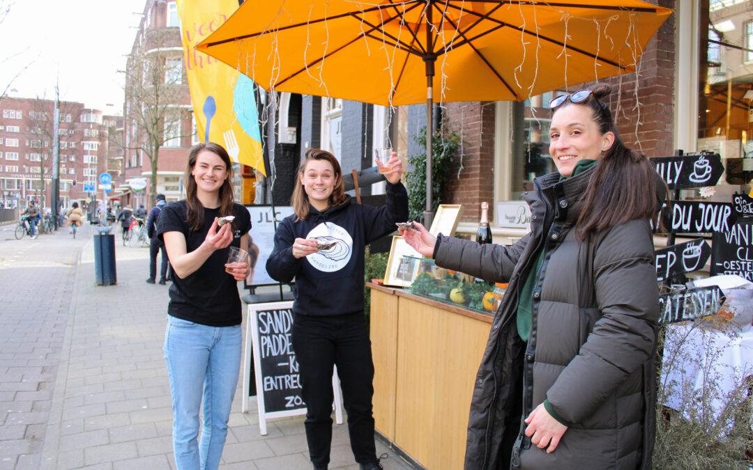 Eerste Oesterwandeling in Amsterdam smaakt naar meer