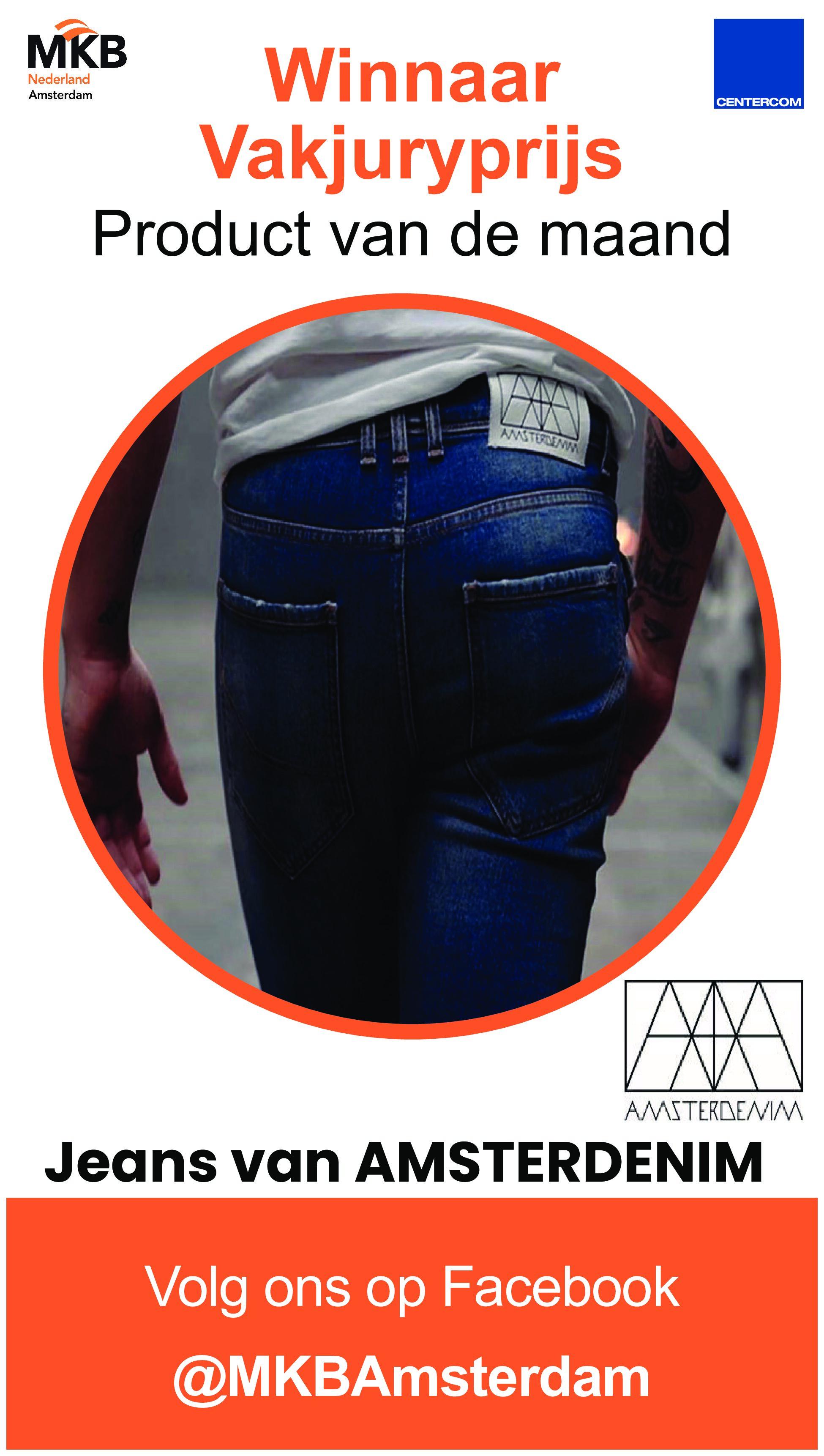 Amsterdenim Jeans en Parkeerapp VICKY winnaars!