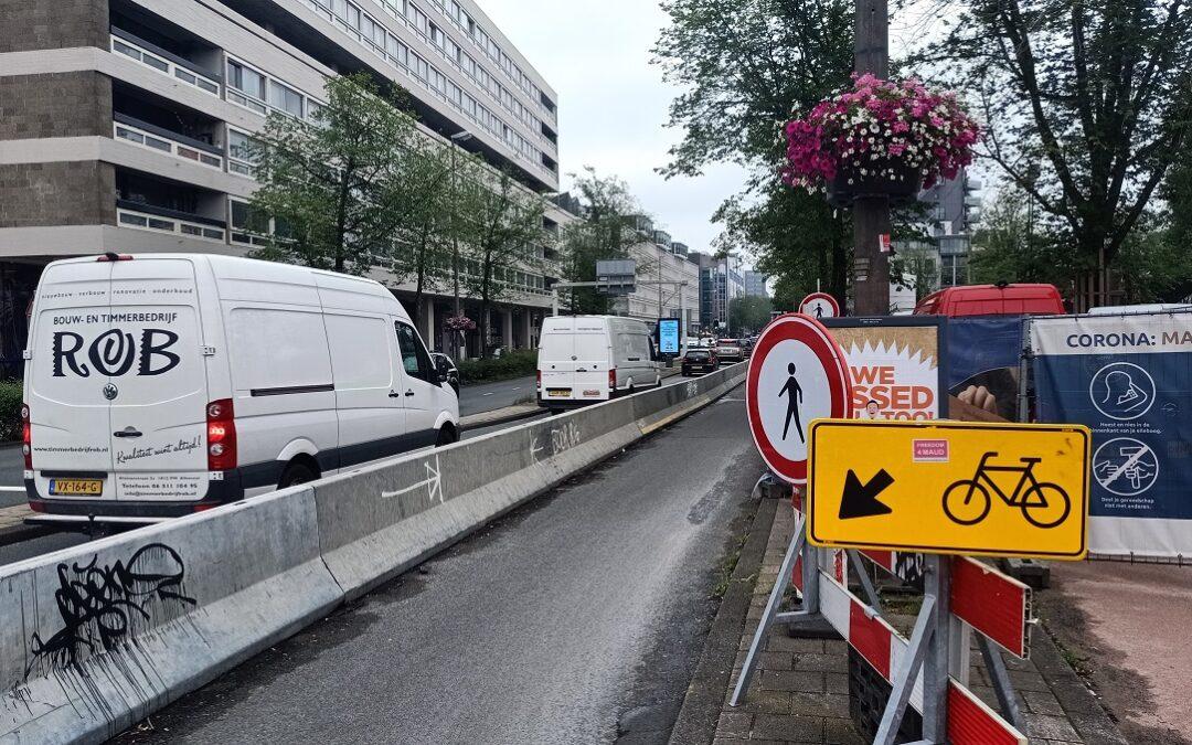 'Snel met wethouder om tafel over versmalling Weesperstraat'