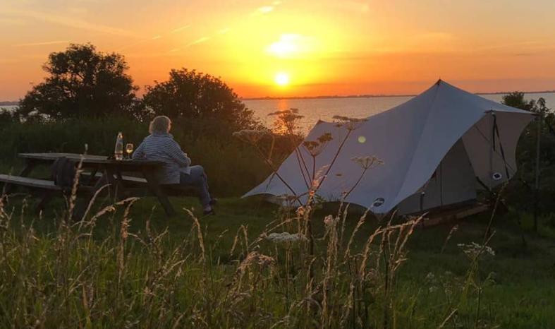 Staycation tips: Kamperen op Forteiland Pampus